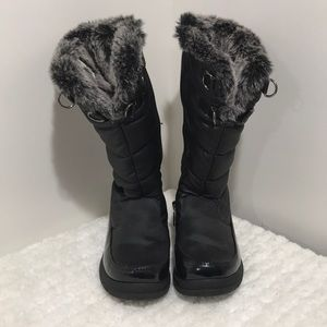 Girls Size 2 Totes waterproof boots Black